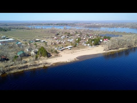 Поселения на острове Поджабный (Проран) Russia