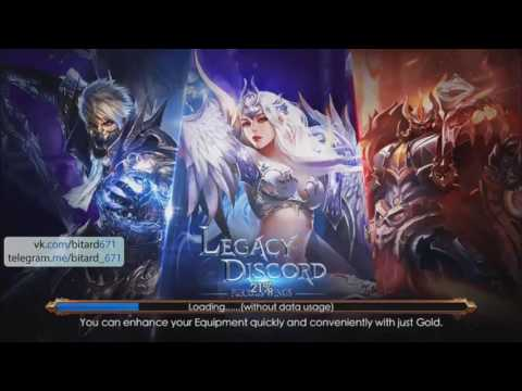 Legacy Of Discord - Furious Wings [android игра, MMORPG]