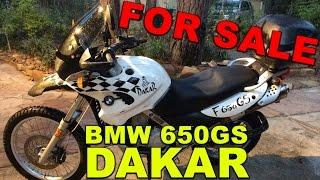 2001 BMW F650GS Dakar for SALE