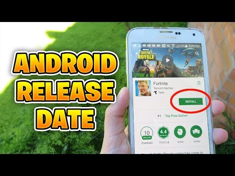 Fortnite Mobile OFFICIAL Android Release Date + Fortnite Mobile Gameplay