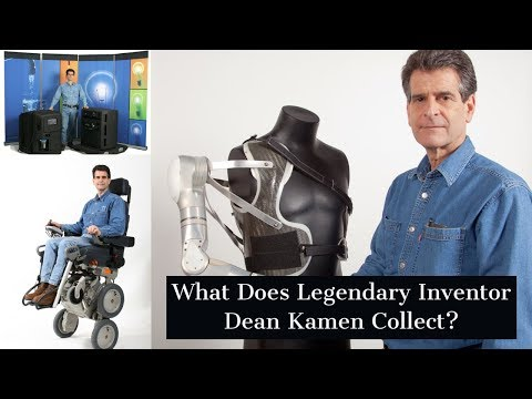 Segway Scooter & Insulin Pump Inventor Dean Kamen: Why He Collects Old Technology