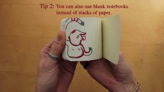How To/Make: Flip books