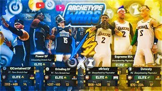 STRETCH BIGS VS PLAYMAKERS ON $25,000 COURT AT STAGE • MYPARK BEST ARCHETYPE WARS! NBA 2K19