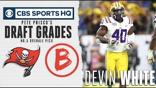 Pairing Devin White with Levonte David will give TB the best LBs | NFL Draft 2019 | CBS Sports HQ