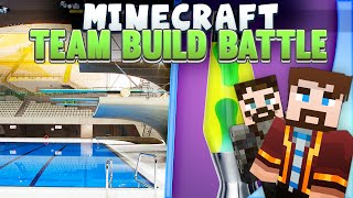 Minecraft - Team Build Battle - Pool and Lamp