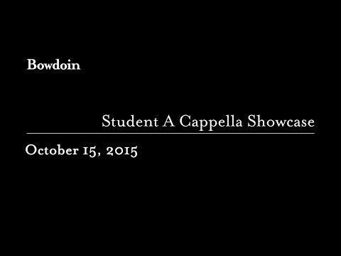 Student A Cappella Showcase