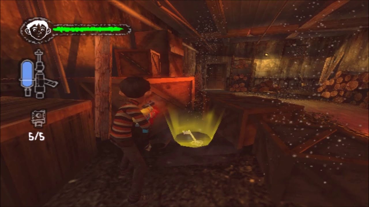 Monster House PS2 Walkthrough Part 2 No Commentary Ground