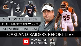 Oakland Raiders Report LIVE Fan Mailbag Plus Q&A With Mitchell Renz (3/19/19)
