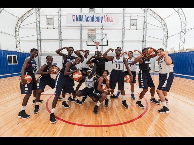 Big Top Fabric Structures - NBA Africa Basketball Academy