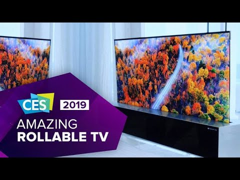 download Watch LG's amazing rollable OLED TV in action at CES 2019