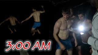 DO NOT CLIFF JUMP AT 3AM!! (YOU WON'T BELIEVE WHAT HAPPENED)