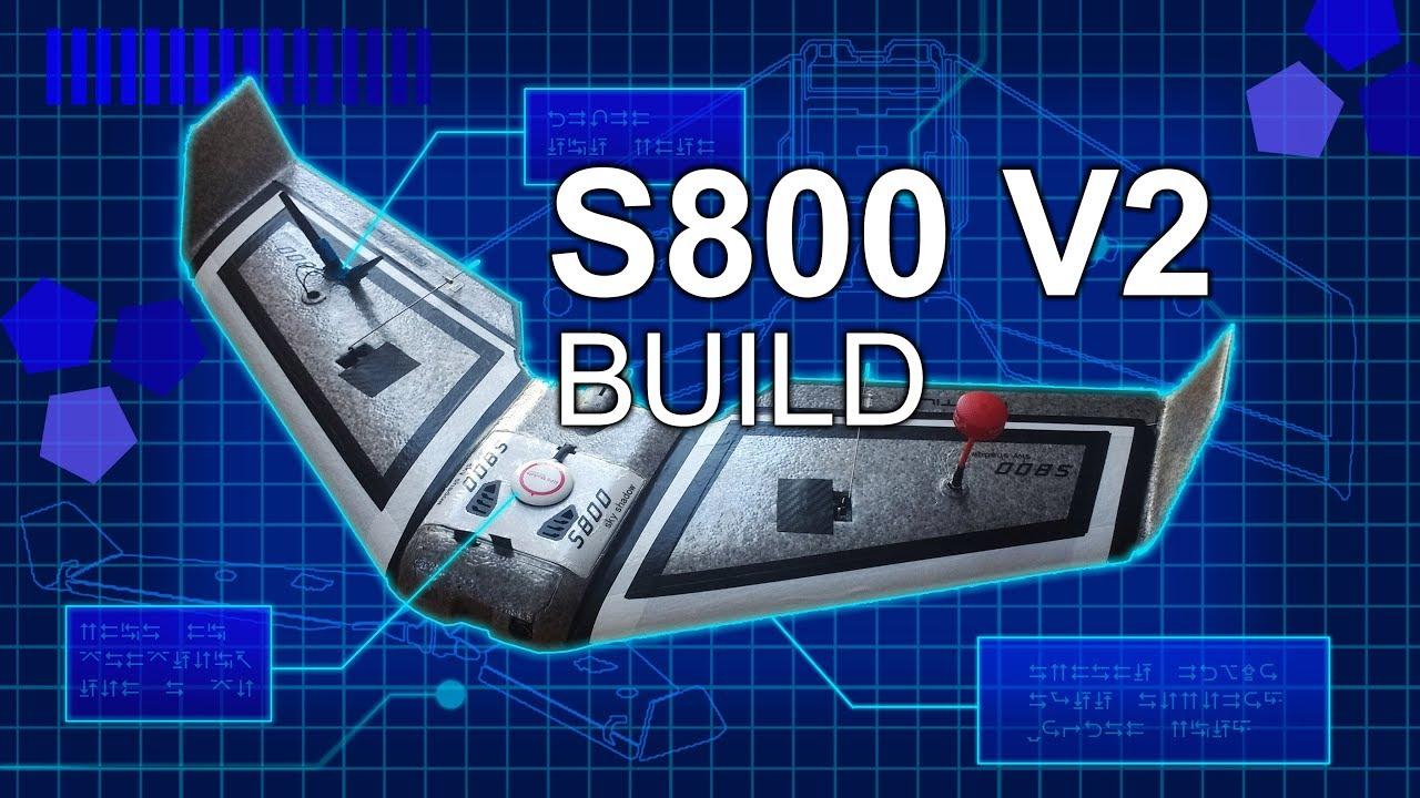 🛩️ S800 V2 build - Omnibus F3 and Inav setup