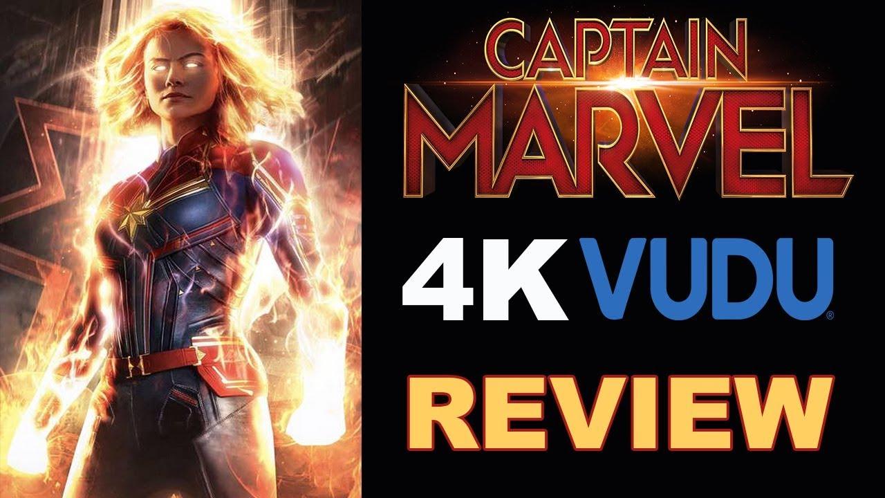 Download CAPTAIN MARVEL 4K VUDU Review