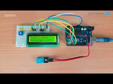 DHT11 Humidity Sensor on Arduino