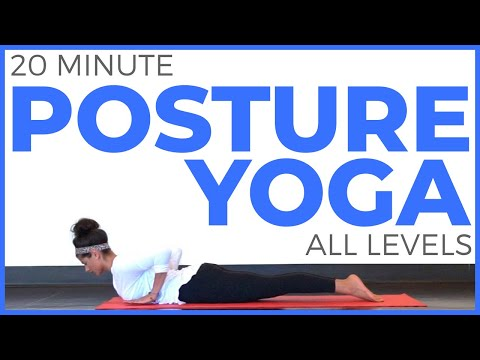20 minute Yoga for Posture (All Levels)