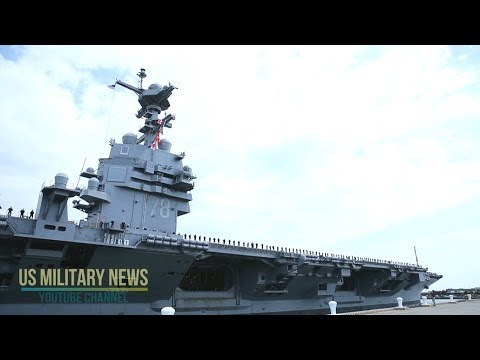 Exclusive: An Inside Look at USS Gerald R. Ford America's (Newest Aircraft Carrier)
