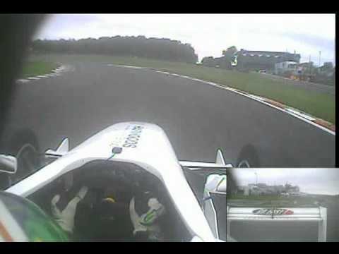 Kieran Vernon - Formula Palmer Audi Lap Record Brands GP 2010.