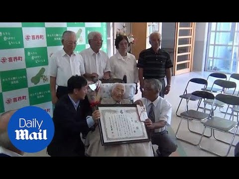 World's oldest person Nabi Tajima dies aged 117 in Japan - Daily Mail