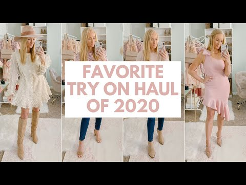 NEW FAVORITE BOUTIQUE! 💗SPRING OUTFIT IDEAS PETAL AND PUP TRY ON HAUL 2020 | Amanda John