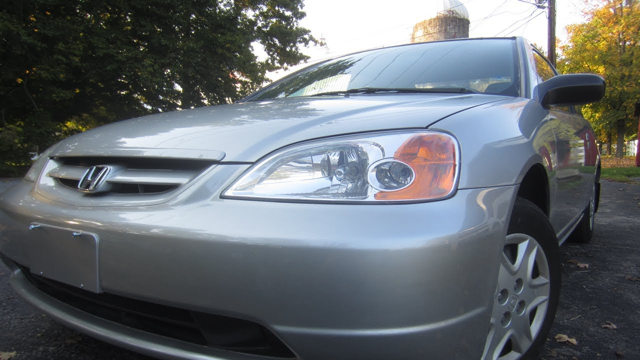 2003 Honda Civic LX Silver Coupe - Used Cars Rhinebeck New ...