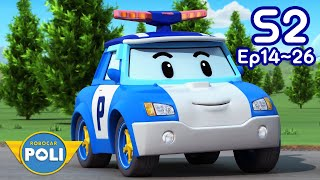 Robocar POLI Stagione 2 Completa | Ep.14~Ep.26 | 145 min | Cartoon per Bambini | Robocar POLI tivù