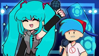 Friday Night Funkin' - MIKU BATTLE (FNF - Animation Mod)