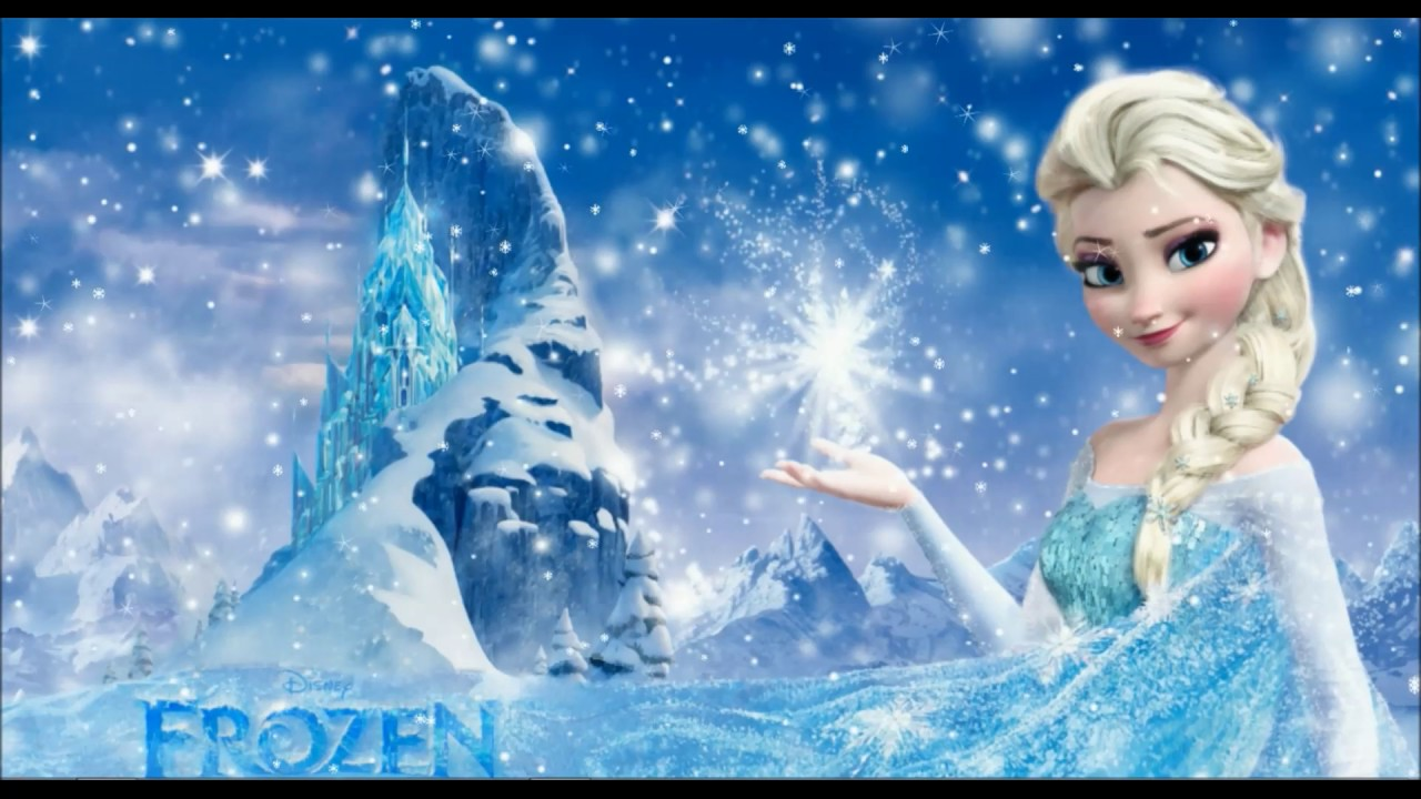 frozen animated wallpaper - youtube