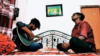 Mon Majhi Khobordar   Vocal : Ab Ishan    Guitar : Haroon   