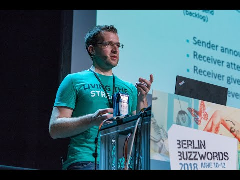 Berlin Buzzwords 18: Nico Kruber – Stateful Stream Processing with Apache Flink 1.5 and beyond on YouTube