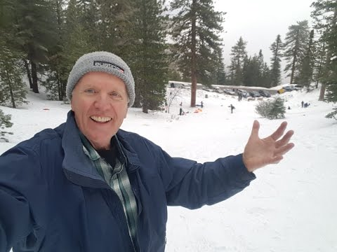Snow Fun in Angeles National Forest