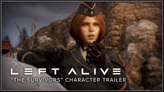 "LEFT ALIVE - Official PlayStation ""The Survivors"" Character PS4 Trailer (2018) HD"