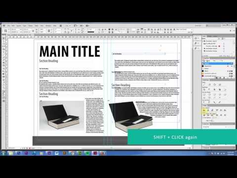 How To Align And Distribute In InDesign