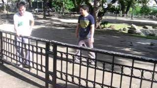 Perez Park Training - Parkour Lucena (Philippines)