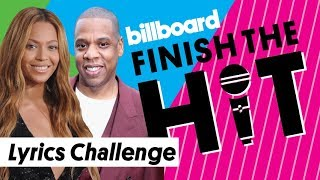 jay z beyoncé lyrics challenge finish the hit billboard