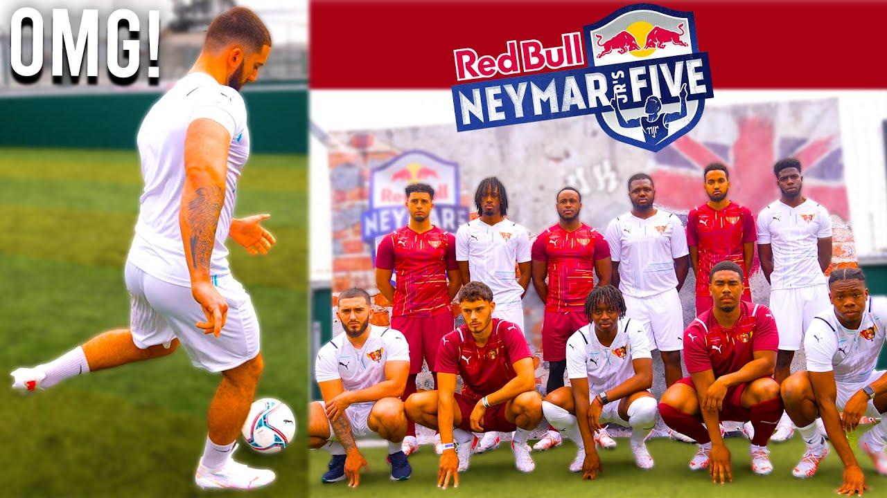 WE ENTERED NEYMAR JR'S FOOTBALL TOURNAMENT!?...INTENSE