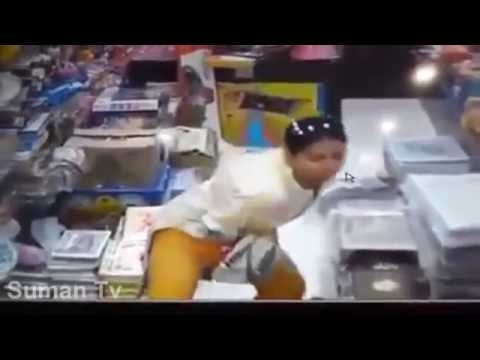 Women Caught on Camera | Robbery in General Store | CCTV Footage 2016