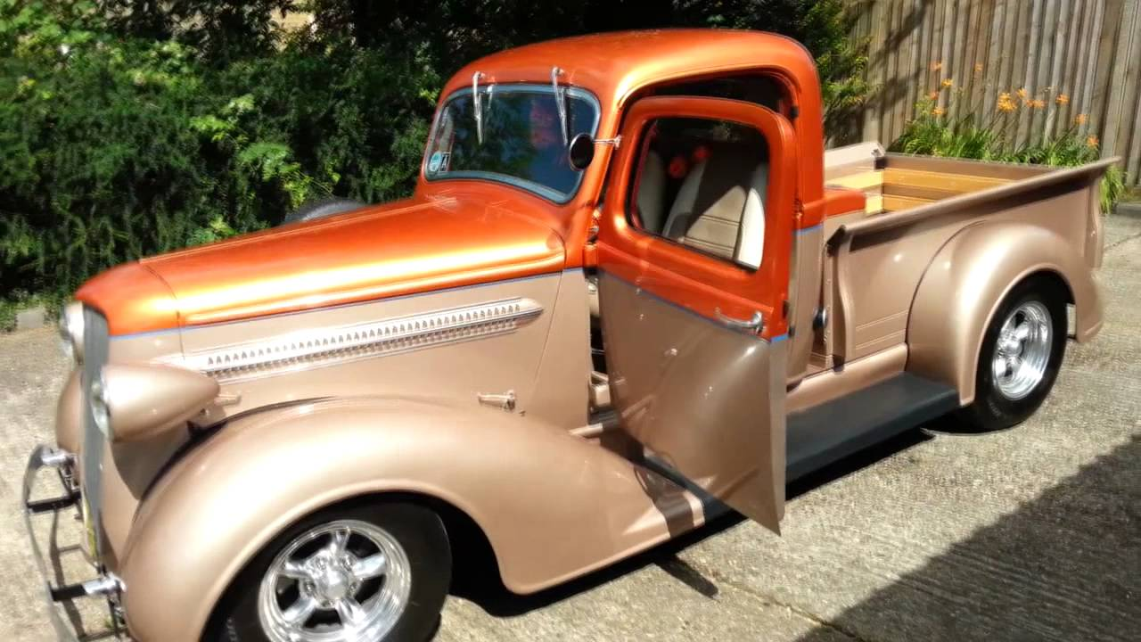1937 plymouth pickup truck - YouTube