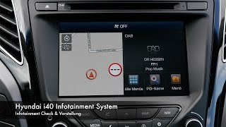Infotainment Check Hyundai i40 смотреть