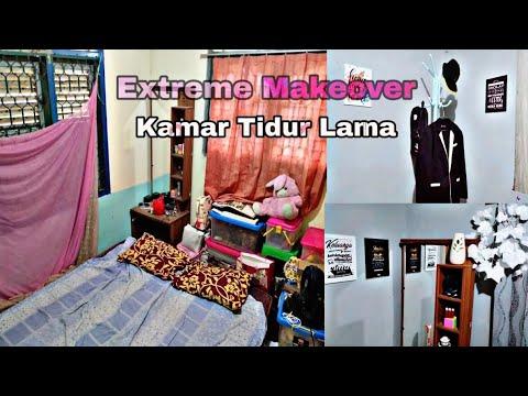 EXTREME MAKEOVER KAMAR TIDUR JADI LEBIH SEDERHANA - YouTube