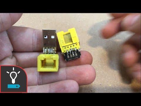 Haciendo Una Extensión USB Modular