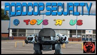 NEW ROBOCOP SECURITY @ TOYS R US - UK