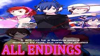 Shin Megami Tensei Devil Survivor Overclocked ALL ENDINGS