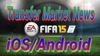 Fifa 15 Android/iOS Transfer Market.....Free Pack Opening