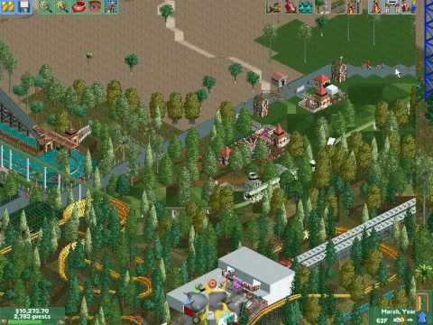 Rollercoaster tycoon 2 game review download and play free version!