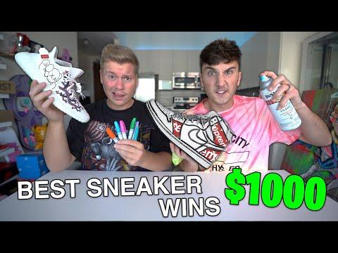 Best CUSTOM Yeezy/Jordan Wins $1000!