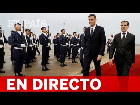 Directo | Rueda de prensa de Pedro Sánchez en Marruecos