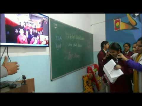 Skype Session on Lifestyle Disorder with Pragya Kunj School, Kathmandu, Nepal
