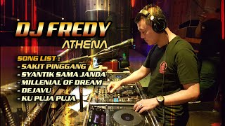 "Download Lagu DJ FREDY ""SAKIT PINGGANG vs SYANTIQ SAMA JANDA vs KU PUJA PUJA"" mp3"