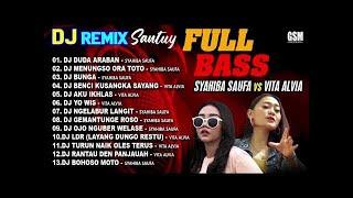 Dj Remix Santuy Full Bass - Syahiba Saufa vs Vita Alvia I Official Audio