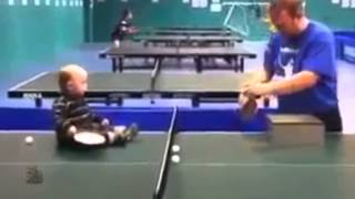 Baby Play Table Tennis